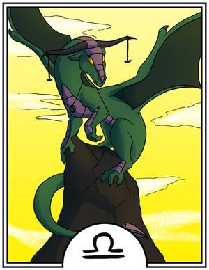 Zodiac Dragons - Libra