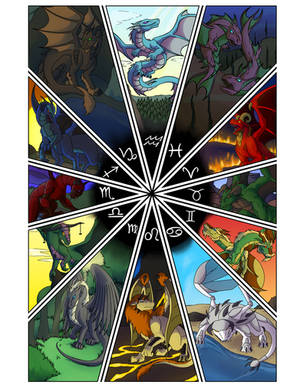 Zodiac Dragons - All Signs