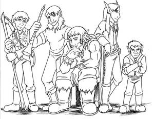 DnD Boy Band