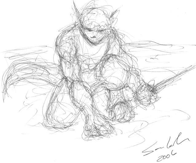 Scribble Line Gesture Drawing : Gesture drawing by dragonsong on deviantart
