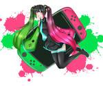 Miku Splatoon Switch Ver.