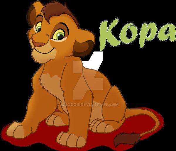 Tag 1 en El Legado de Simba My_kopa_version_by_xanxor-d3juqu2