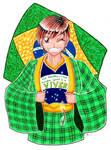 A Terra natal Brasil e eu