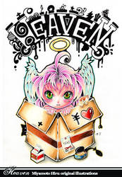 Heaven - Artbook Cover