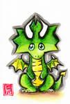 Sumi-e - Drago 001