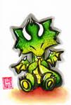 Sumi-e - Drago 003
