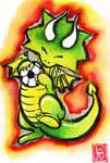 Sumi-e - Drago 006