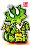 Sumi-e - Drago 015