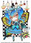 Comission - Butterfly girl