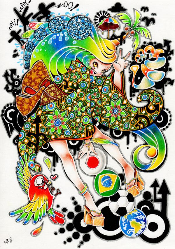 Portfolio - Hiru Miyamoto Toque_brasileiro_by_hiru_miyamoto-d4bed3h