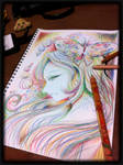 Playing with pencil