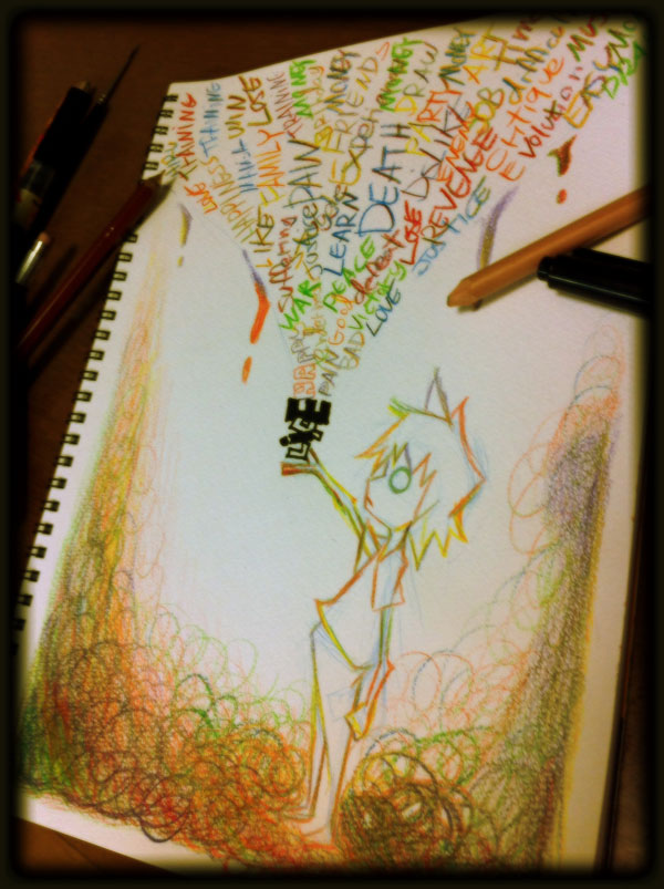Portfolio - Hiru Miyamoto Playing_with_pencil_2_by_hiru_miyamoto-d5h6ab2