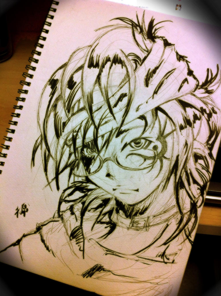 Sketchs by hiru-miyamoto