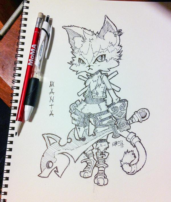 Sketch - Manta by hiru-miyamoto