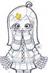 Sketch - Star girl