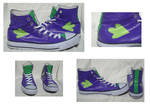My Little Pony Spike Cosplay Canvas High-Top Shoes