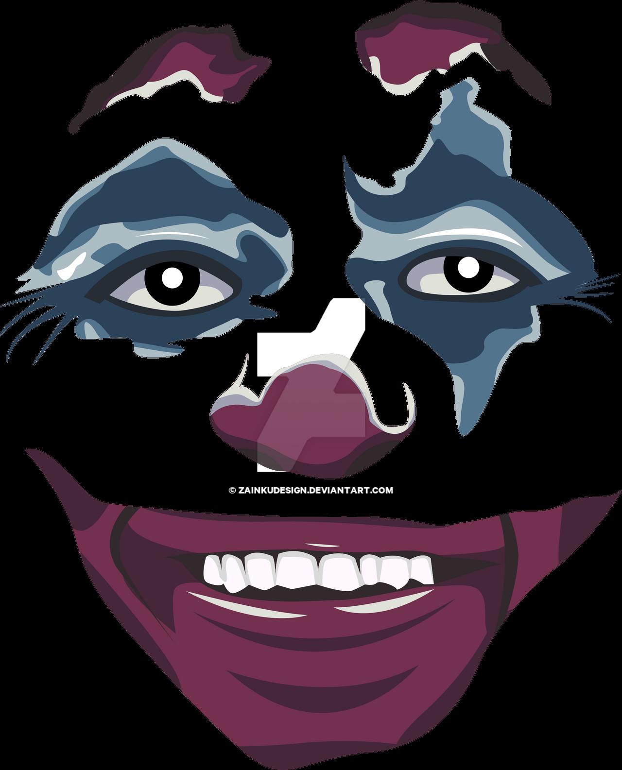 Joker Smile Vector By Zainkudesign On Deviantart