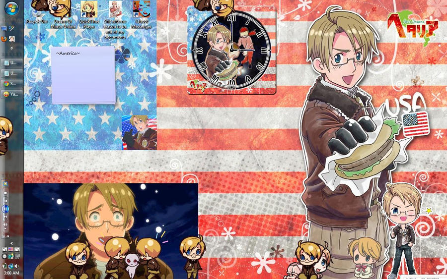 Hetalia America Wallpaper