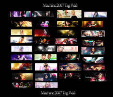 Tag Wall 2007 by machinesix