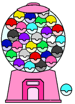 colorful pony gacha capsules