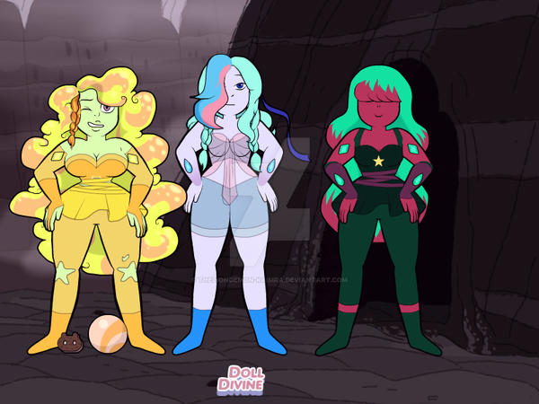 gem OC's by theliondemon-kaimra