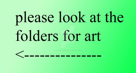 please look at folders