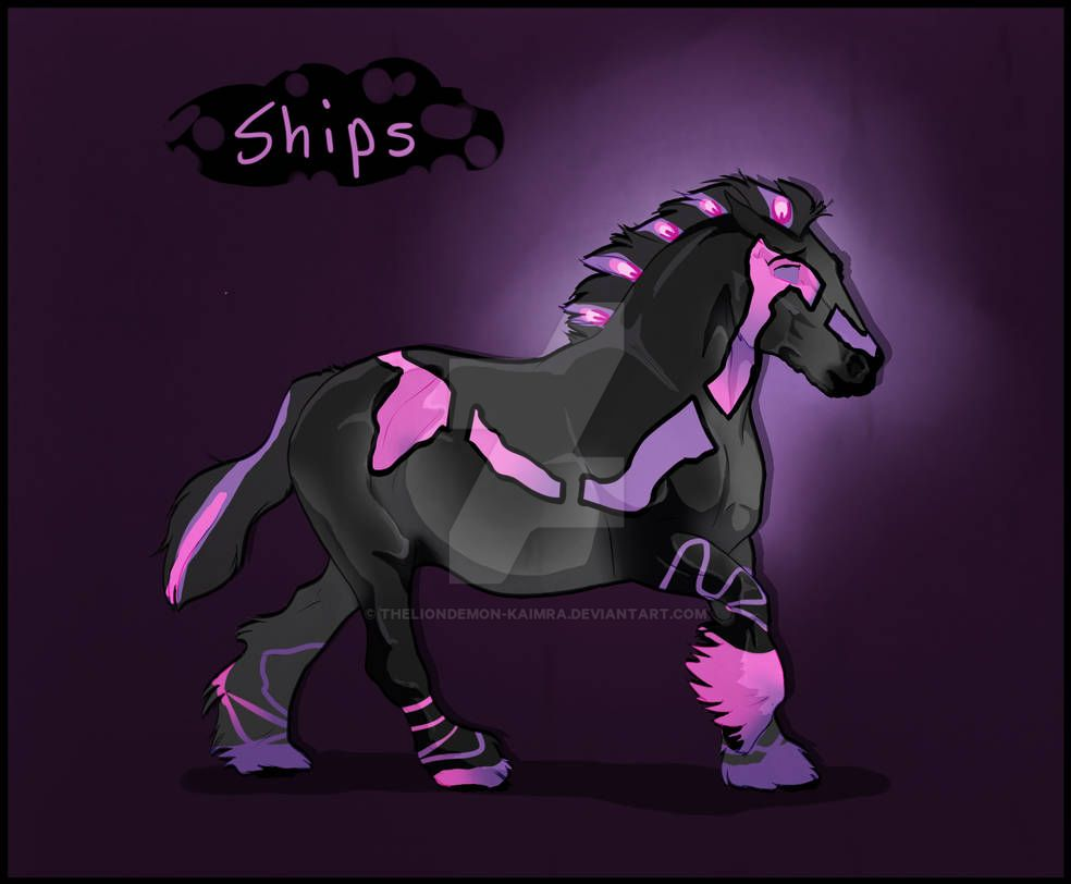 K352 Ngs Ships In The Night   Cervus Mare by theliondemon-kaimra