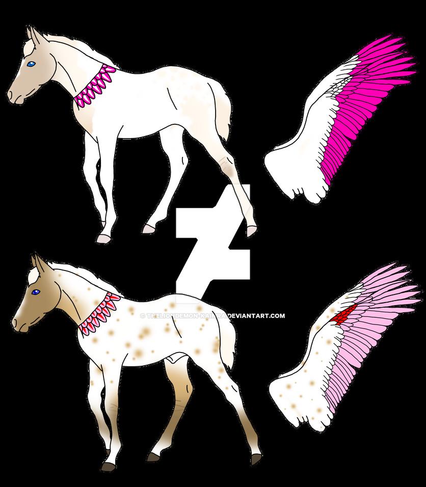 Regem-Aquila foals mine by theliondemon-kaimra