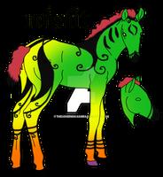 misfit foal Devinaden 9