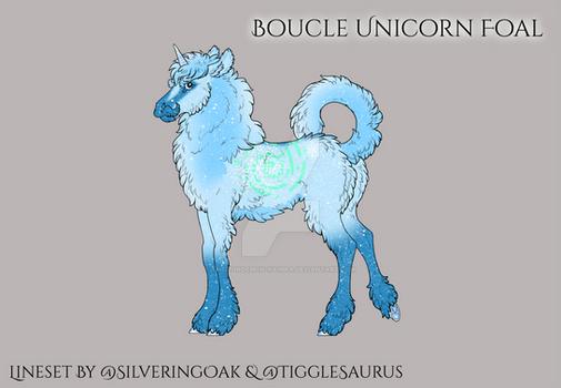 P228 Boucle-Unicorn foal