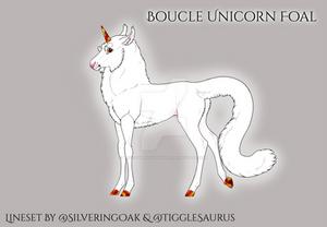 R194 Boucle-Unicorn foal
