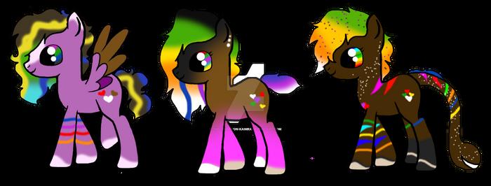 Caloxya- mlp foals