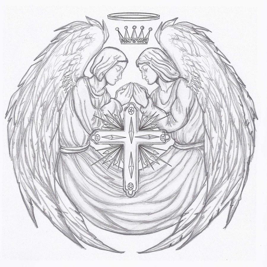 Angel Tattoo by kracken
