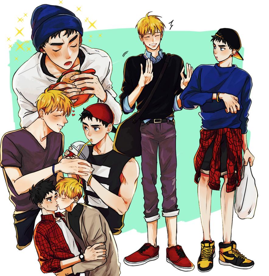 fashion au by milaa-chan