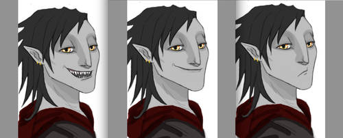 Kieran Expressions by Madchangeling
