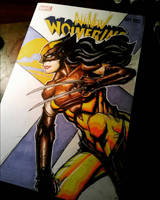 All new Wolverine in classic Wolverine costume by 8rtman11