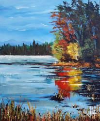 Placid lake by Markkus76