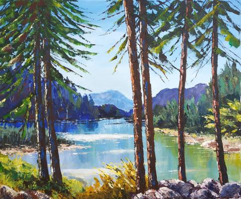 Lake Bonlieu - Jura