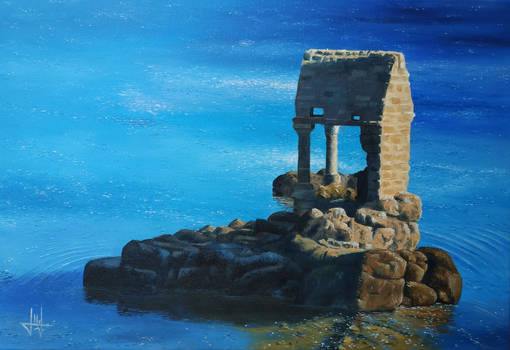 The legend of the oratory of Saint-Guirec
