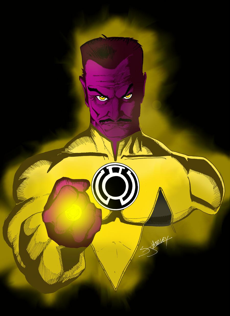 Sinestro by portfan