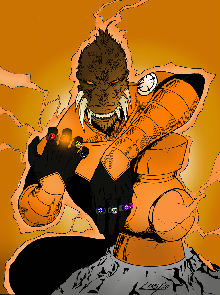 Orange Lantern Ring Oath