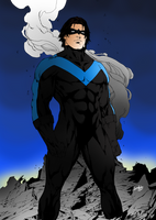 Dick Grayson as Nightwing by portfan