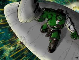 Hulk - Army of One by portfan