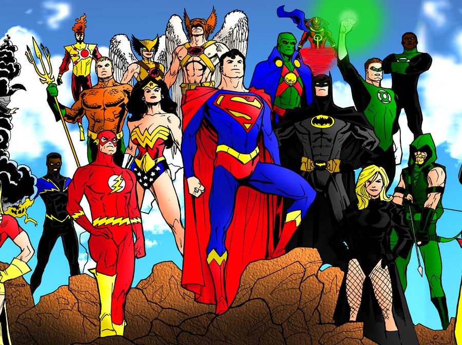 DC Icons Legacy: Present by portfan