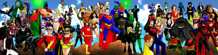 DC Icons Legacy: Past, Present and Future