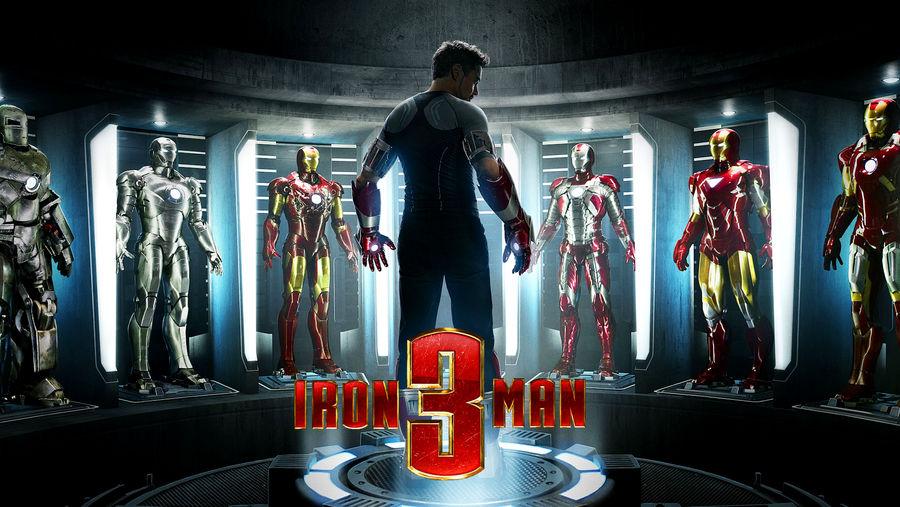 Iron Man 3 Suits of Armor Teaser Wallpaper