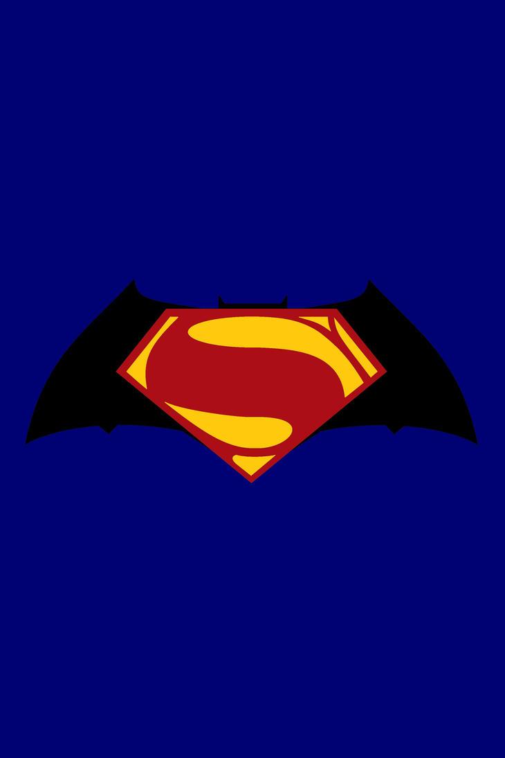 supermanbatman movie logo by portfan on deviantart