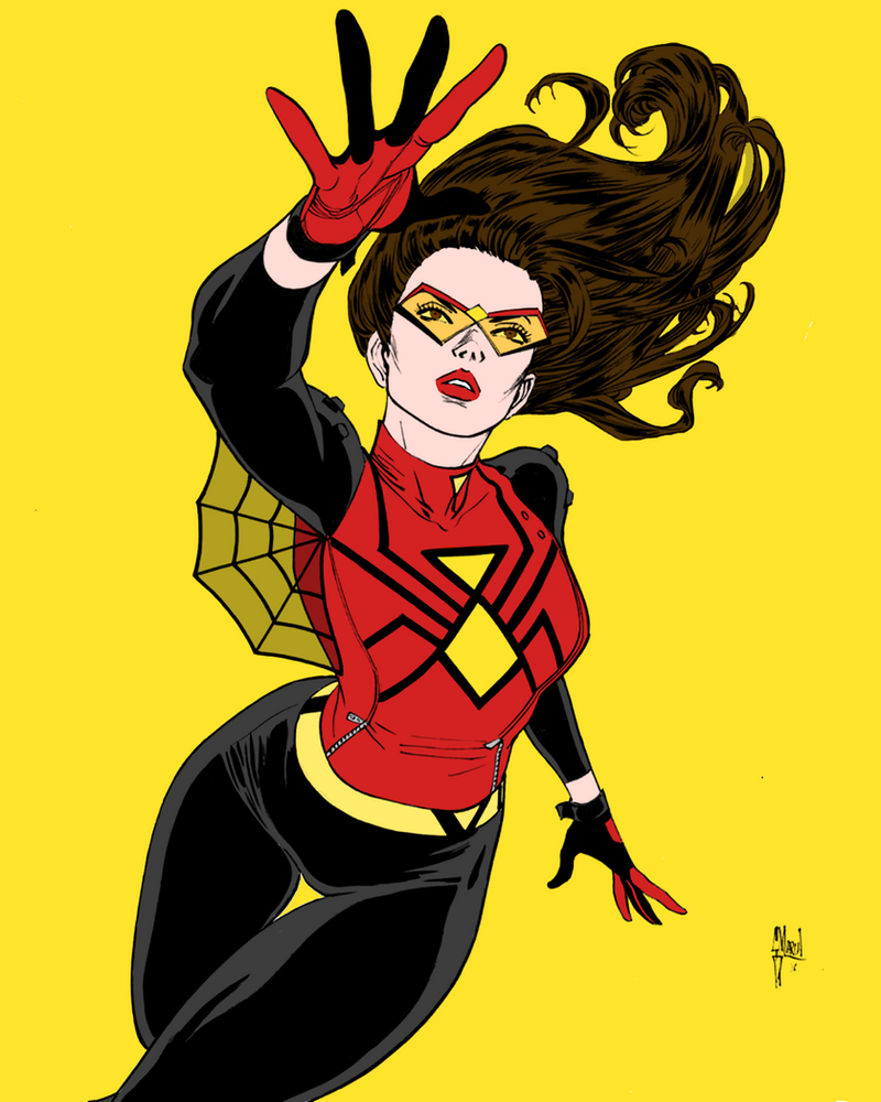 Jessica Drew (New Spider-Woman costume) by portfan ...  sc 1 st  DeviantArt & Jessica Drew (New Spider-Woman costume) by portfan on DeviantArt