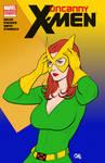 Uncanny X-Men Jean Grey Frank Cho Sketch Cover
