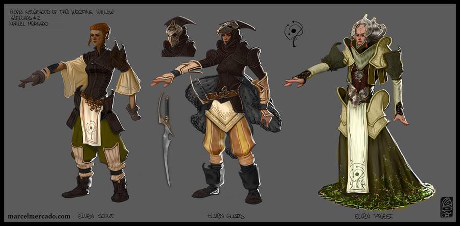 - elven_sisterhood_concept_by_marcel_mercado-d5s8x7a